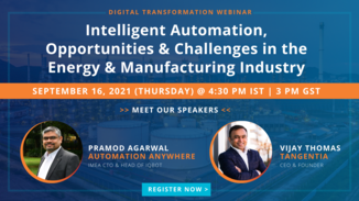 Energy and Manufacturing Webinar